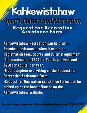 Sports & Recreation Assistance