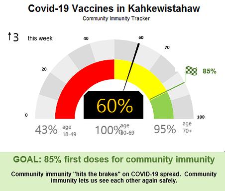 Covid-19 Community Immunity Tracker
