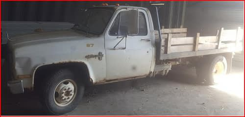 Expired:BIDDING SALE for 1982 Chevrolet Silverado